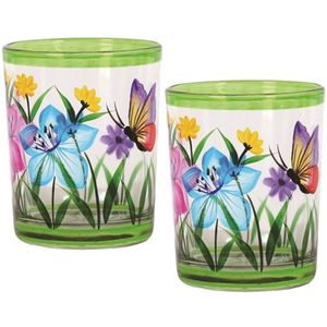 Aroma Votive Candle Holders Set of 2: Butterfly