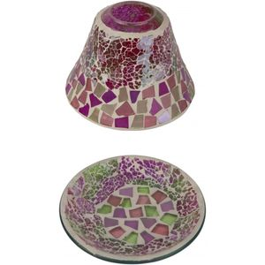 Celebration Candle Shade & Plate Gift Set