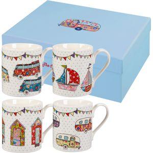 Caravan Larch Mug Festival Mugs Gift Set