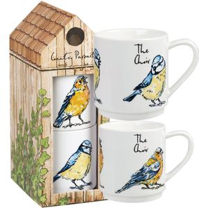 Country Pursuits Tower Stacking 2 Mug Set - The Choir