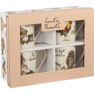 Churchill China 4 Larch Mugs Set - Country Pursuits