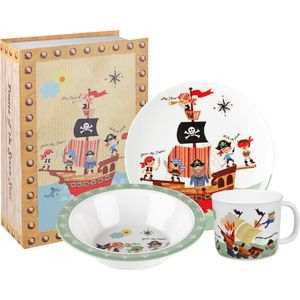 Little Rhymes Melamine Dinner Set - Pirates