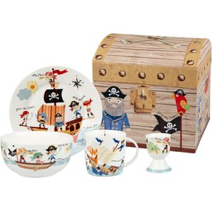Pirates 4 pc Breakfast set