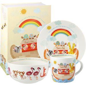 Noahs Ark 3 pc Breakfast Set