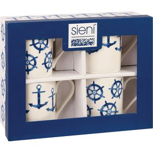 Churchill China Couture 4 Larch Mugs Set - Sieni ASSTD
