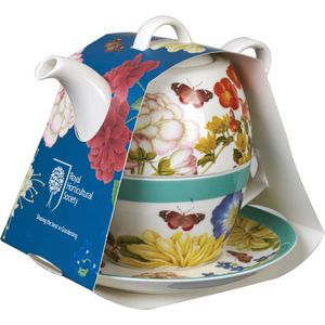 RHS Admiral Tea for One Set - Butterflies & Blooms