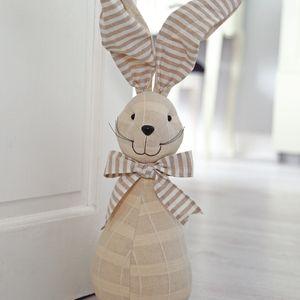 Fabric Doorstop 31cm - Rabbit