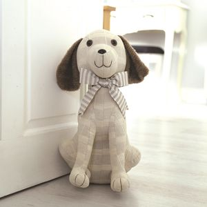 Fabric Dog Doorstop (39cm)