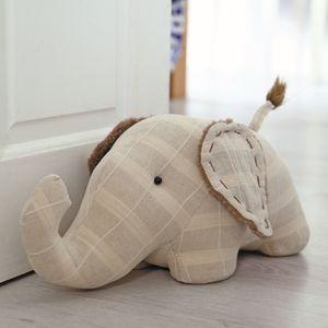 Fabric Doorstop 38cm - Elephant