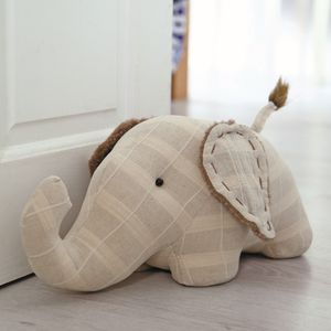 Fabric Elephant Doorstop (38cm)