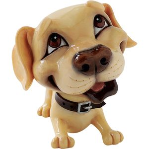 Little Paws Marlie Yellow Labrador Dog Figurine