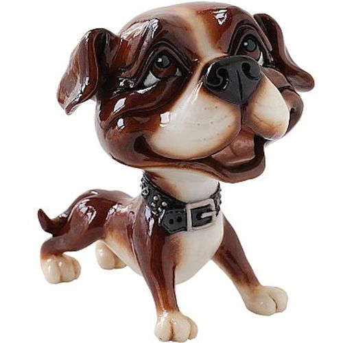 Little Paws Stan the Staffy Dog Figurine