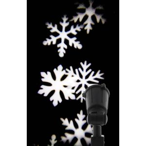 Christmas Decoration - Snowflake Outdoor Projector