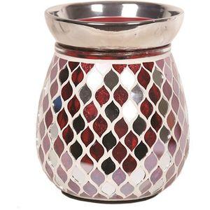 Aroma Electric Wax Melt Burner: Red Mirror Teardrop