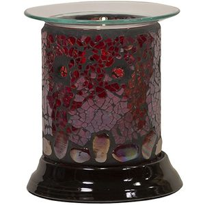 Electric Wax Melt Burner: Ruby Pebbles (Straight)