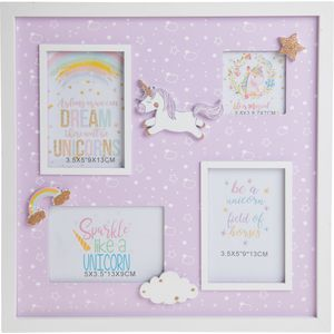 Unicorn Lullaby Collage Photo Frame