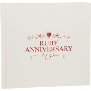 Ruby Wedding Anniversary Photo Album