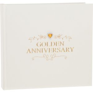 Golden Wedding Anniversary Photo Album