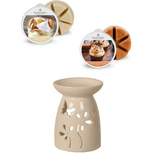 Aroma Wax Melt Burner & Wax Melts Set: Butterflies