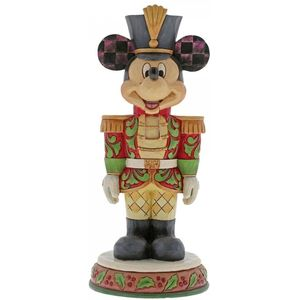 Disney Traditions Nutcracker Figurine - Stalwart Soldier (Mickey Mouse)
