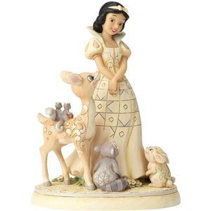 Disney Traditions White Woodland Figurine - Forest Friends (Snow White)