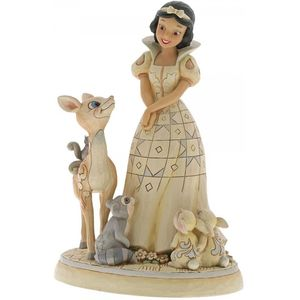Disney Traditions White Woodland Forest Friends Snow White Figurine