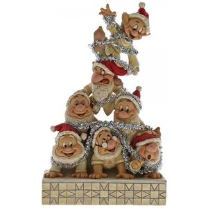 Disney Traditions Precarious Pyramid 7 Dwarfs