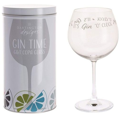 Dartington Gin Copa G&T Glass: Gin Time Collection It`s Gin o' Clock