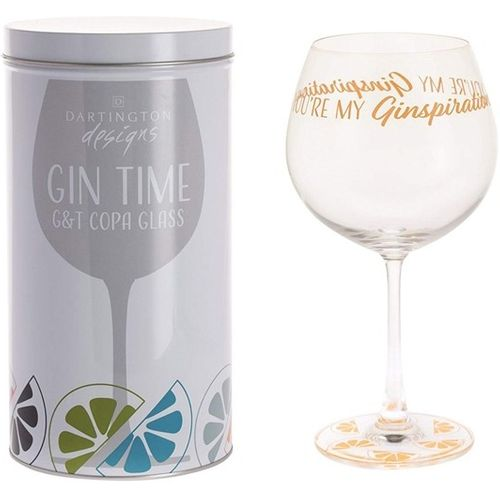 Dartington Gin Copa G&T Glass: Gin Time Collection You`re My Ginspiration