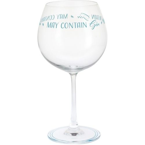 Dartington Gin Copa G&T Glass: Gin Time Collection May Contain Gin