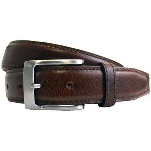 Full Grain Padded Centre Leather Belt (35mm)