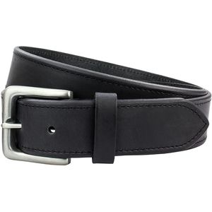 Full Grain Leather Belt Chamfered Edge