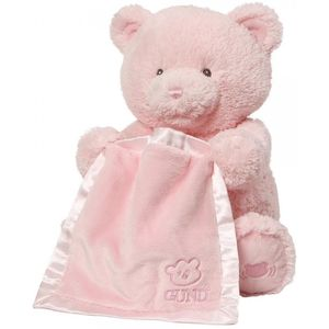 Baby GUND My First Teddy Bear Peek a Boo (Pink)