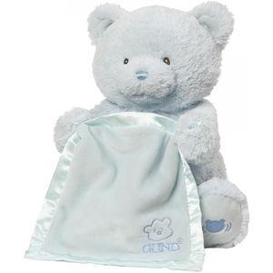 Baby GUND My First Teddy Bea Peek a Boo (Blue)