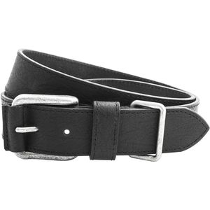 Full Grain Leather Belt with Metal Keeper (40mm)