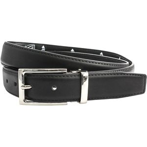 "Suit Belt: Cut to Size - Black (30"" - 44"")"