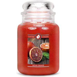 Goose Creek Large Jar Candle - Blood Orange