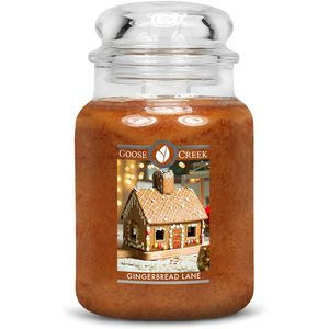 Goose Creek Large Jar Candle - Gingerbread Lane