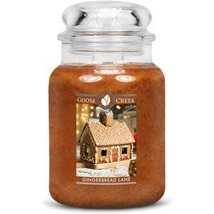 Goose Creek Large Jar Candle - Gingerbread Lane