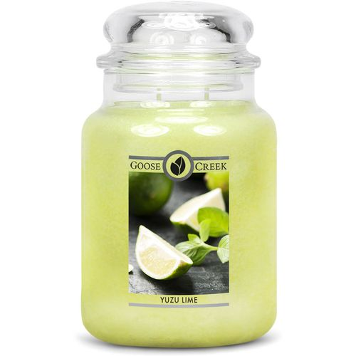Goose Creek Large Jar Candle - Yuzu Lime