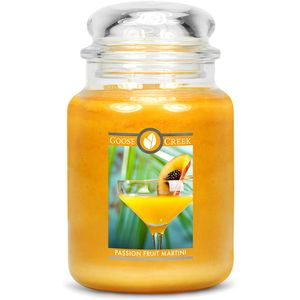 Goose Creek Large Jar Candle - Passionfruit Martini