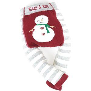 Blade & Rose Fluffy Snowman Leggings