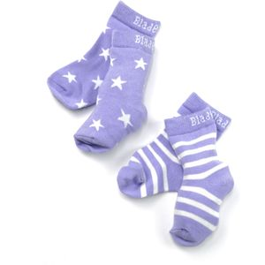 Blade & Rose Lilac Stripe & Star Socks