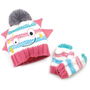 Blade & Rose Messy Monster Hat & Mittens Set