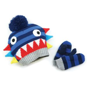 Blade & Rose Ziggy Bobble Hat & Mittens
