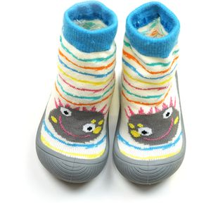 Messy Monster Sock Shoes - Size UK 2