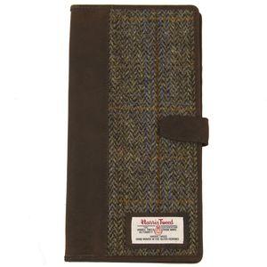 Harris Tweed Travel Document Wallet: Carloway