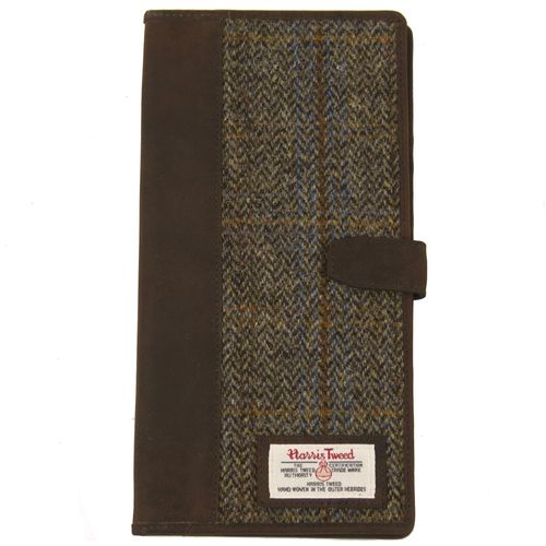 Harris Tweed The Carloway Travel Document Holder Wallet Carloway