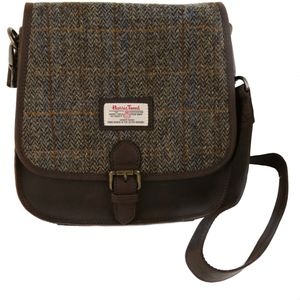 Harris Tweed Saddle Bag: Carloway