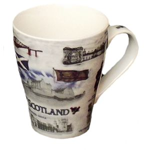Scottish Heritage Coffee Mug set of 6